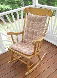 rocking chair cushion setore clearance exciting wooden cushions picture