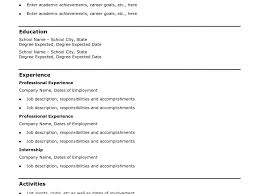 Funky Free Create A Resume Motif Documentation Template Example
