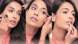 how to do easy party makeup look tutorial in hindi bebeautiful glam