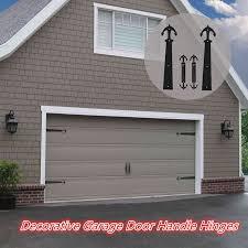 ccjh decorative garage door accents magnetic handle hinge hardware kit