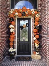 10. Framed in Carved Pumpkins