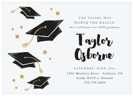 2019 Graduation Announcements Invitations For High School