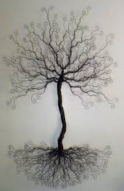 4 foot wire tree wall mount sculpture display by ivysgembox  on wire tree sculpture wall art with 50 beautiful wall sculptures metal modern and outdoor art