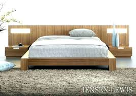 platform bed with nightstand. Platform Bed With Nightstand Night Stands Nightstands Bedrooms And Furniture Flat Panel . S
