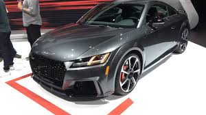 2018 audi tt rs. contemporary 2018 2018 audi tt rs showcased at 2017 new york motor show live  interior  exterior throughout audi tt rs