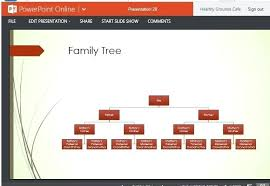 Family Tree Design Maker Example Reports Chart Template For Online ...