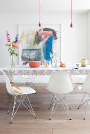 10 beautiful interior designs featuring the eames molded plastic side chairs