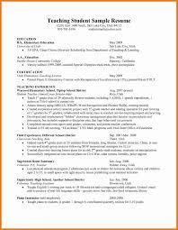 Sample Resume For Teachers Luxury Resume For Teacher Mba Executive