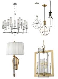 clockwise from hudson valley lighting the wentworth chandelier a grouping of colebrook pendants