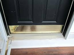 front door thresholdFront Door Threshold Plate Fun Activities Name Plates Chrome Kick