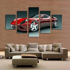 unthinkable car wall art