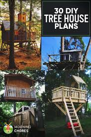 House Plan 30 DIY Tree House Plans Design Ideas For Adult And Kids