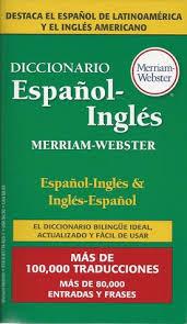 diccionario espanol ingles merriam webster by anonymous 18405169