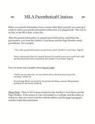 parenthetical citation in mla format mla format parenthetical citations college paper help