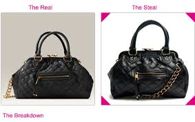 Steal the Real – Marc Jacobs Stam Satchel | The Looks For Less & Marc Jacobs Stam Quilted Handbag Satchel - Get The Look For Less Adamdwight.com