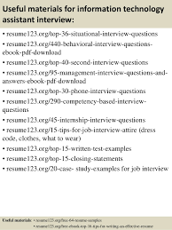 Information Technology Assistant Sample Resume Top 100 Information Technology Assistant Resume Samples shalomhouseus 2