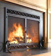extra large fireplace doors large fireplace screens full size of decorative fireplace screens custom fireplace doors