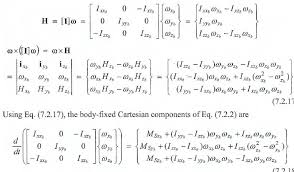 rotational dynamics equation for a variable mass system