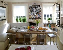 metal dining room chairs chrome: nice open kitchen e with dining room wooden table metal chairs and