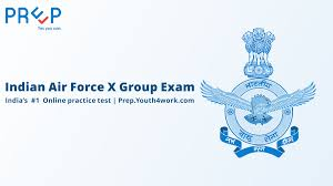 Online Group Indian Air Force Online Mock Test For X Group