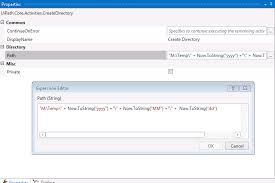 Create A Directory Uipath Create Multiple Folder Rpa Developers Uipath