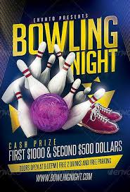 Bowling Event Flyer Template Download The Bowling Party Flyer Template Psd Ffflyer