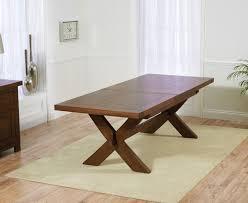 avignon 160cm dark oak extending dining table