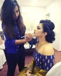 makeup artist nikitha reddy from bangalore