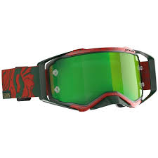 Scott Prospect Special Edition 6 Days Portugal Goggle 2020 Color Red Green Green Chrome Works Lens 2760874354279 Motocrosscenter Com