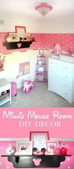 minnie mouse room diy decor