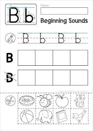 Beginning Sounds Worksheets For Kindergarten Pdf Kids Free Phonics ...