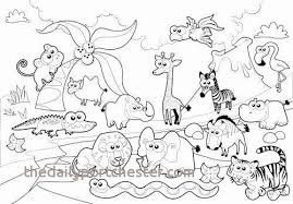 18 Luxury Zoo Animal Coloring Pages Coloring Pages