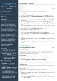 Entrepreneur Cto Full Stack Developer Resume Sample By Hiration
