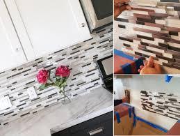 black glass tiles for kitchen backsplashes unique backsplash tile subway and mosaic wall gray diy a