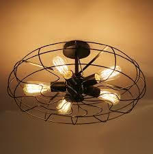Us 660 60 Off110 V 220 V Loft Vintage Hanglamp Armaturen E27 5 Bollen Ijzer Hanglampen Opknoping Lamp Edison Vintage Industriële Verlichting In