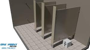 Bathroom Partition Walls Hiny Hiders Commercial Bathroom Partitions Stalls Clipgoo