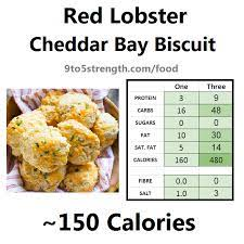 how many calories in red lobster