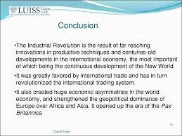 industrial revolution essay conclusion maker work makers the new industrial revolution is a book that helps us put into perspective the impact that the maker culture will have in the following years on the