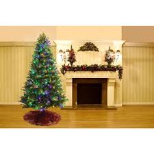 Yukon Holiday Lights Home Accents Holiday 7 5 Ft Yukon Spruce Quick Set