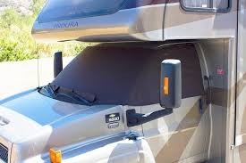 class c windshield covers