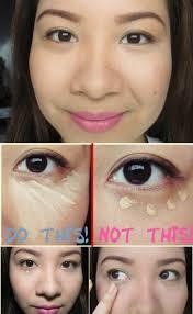 hide dark circles easily how