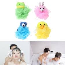 2019 2018 new baby bathing puff brush cartoon ball scrubber bathtubs shower sponge rich bubble from coolhi 25 13 dhgate com