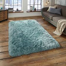 polar pl95 light blue thick gy rug by think rugs