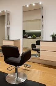 Light, sleek, and modern salon station.