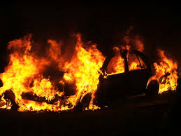 Image result for car on fire