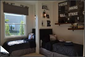 Boys Baseball Themed Bedroom
