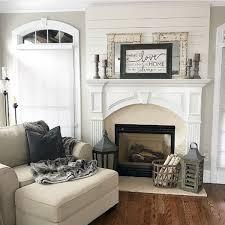 40 awesome fireplace makeover for farmhouse home decor 23