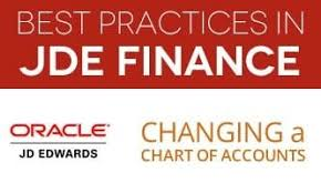 Netsuite Chart Of Accounts Best Practices Jd Edwards Financial Best Practice Series Changing A Chart