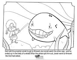 Small Picture Jonah and the Whale Bible Coloring Pages Whats in the Bible