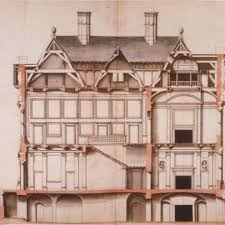 list 5 Really Cool Architectural Drawings from the 16th 17th and
